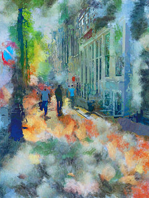 Amsterdam Digital Art - Amsterdam Friday 2 by Yury Malkov