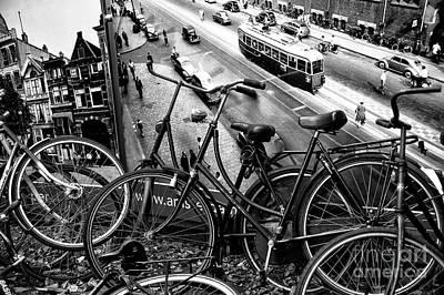 Photograph - Amsterdam History Mono by John Rizzuto