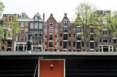 Photograph - Amsterdam Home Styles by Bob VonDrachek