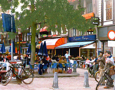 Photograph - Amsterdam by Kurt Van Wagner