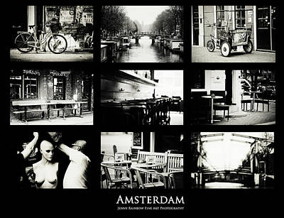 Amsterdam Mix. Amsterdam By Jenny Rainbow Art Print