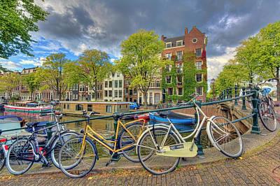 Photograph - Amsterdam by Nadia Sanowar