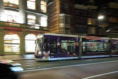 Photograph - Amsterdam Nighttram by Jouko Lehto
