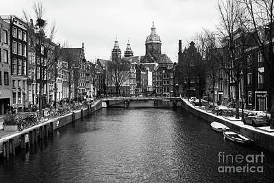 Photograph - Amsterdam Old Town by Didier Marti