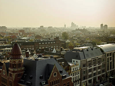 Photograph - Amsterdam Overview by Jouko Lehto