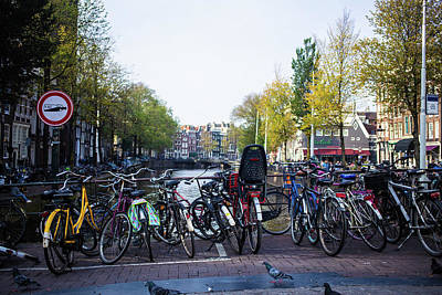 Photograph - Amsterdam Parking Lot by Digiblocks Photography