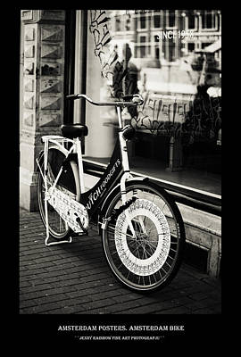 Photograph - Amsterdam Posters. Amsterdam Bike by Jenny Rainbow