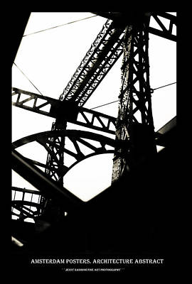 Photograph - Amsterdam Posters. Architecture Abstract by Jenny Rainbow