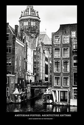 Photograph - Amsterdam Posters. Architecture Rhythms by Jenny Rainbow
