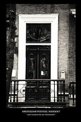 Photograph - Amsterdam Posters. Doorway by Jenny Rainbow