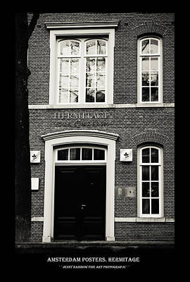 Photograph - Amsterdam Posters. Hermitage by Jenny Rainbow