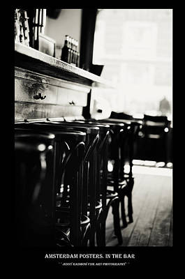 Photograph - Amsterdam Posters. In The Bar by Jenny Rainbow