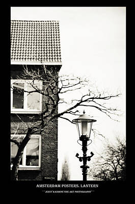 Photograph - Amsterdam Posters. Lantern by Jenny Rainbow