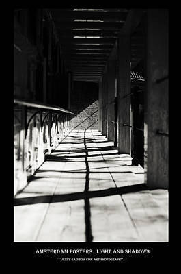 Photograph - Amsterdam Posters. Lights And Shadows by Jenny Rainbow
