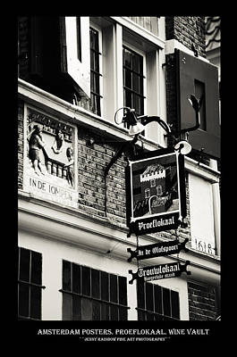 Photograph - Amsterdam Posters. Proeflokaal. Wine Vault by Jenny Rainbow