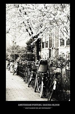 Photograph - Amsterdam Posters. Sakura Bloom by Jenny Rainbow