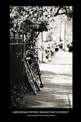 Photograph - Amsterdam Posters. Shadow Part Of Street by Jenny Rainbow