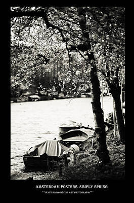 Photograph - Amsterdam Posters. Simply Spring by Jenny Rainbow