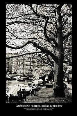 Photograph - Amsterdam Posters. Spring In The City by Jenny Rainbow