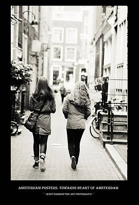 Photograph - Amsterdam Posters. Towards Heart Of Amsterdam by Jenny Rainbow