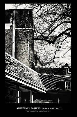 Photograph - Amsterdam Posters. Urban Abstract by Jenny Rainbow