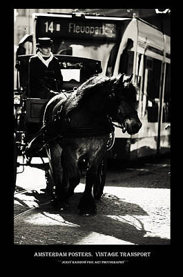 Photograph - Amsterdam Posters. Vintage Transport by Jenny Rainbow