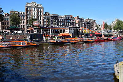 Photograph - Amsterdam by Puzzles Shum