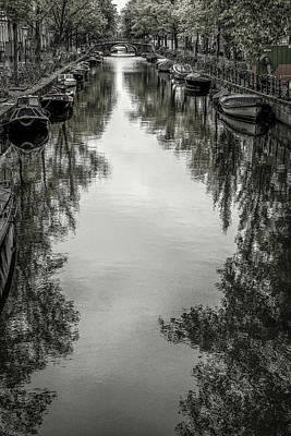 Photograph - Amsterdam Reflections by Christopher Rees