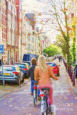 Photograph - Amsterdam Ride by Jean OKeeffe Macro Abundance Art