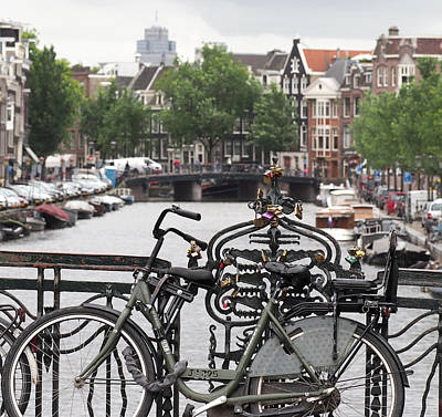 Photograph - Amsterdam by Rona Black