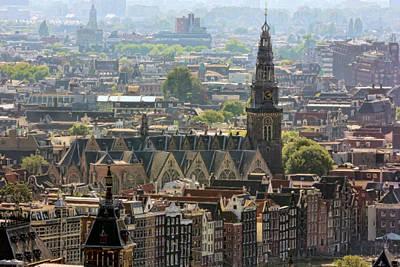 Photograph - Amsterdam Rooftops by Nadia Sanowar