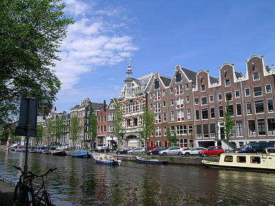 Photograph - Amsterdam by Sandy Taylor