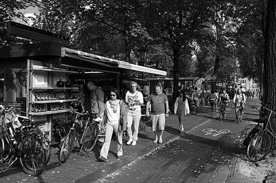 Amsterdam Street Market Art Print