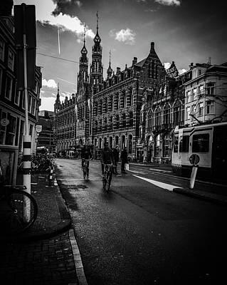 Photograph - Amsterdam Street by Mickey Stellavato