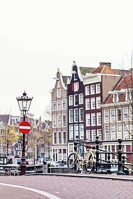 Photograph - Amsterdam Streets by Melanie Alexandra Price