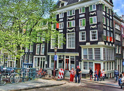 Photograph - Amsterdam Stroll by Allen Beatty