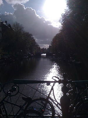 Photograph - Amsterdam Sunrise by Caroline Reyes-Loughrey