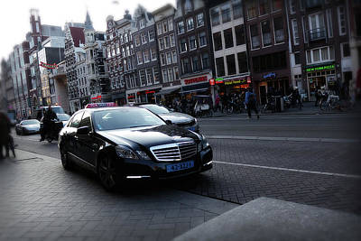 Photograph - Amsterdam Traffic 3 by Scott Hovind