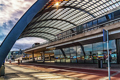 Photograph - Amsterdam Train Station by Janis Knight