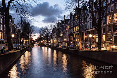 Photograph - Amsterdam Twilight by Didier Marti