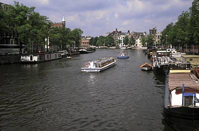Amsterdam Water Scene Art Print