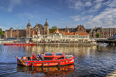 Photograph - Amsterdam Waterfront by Uri Baruch