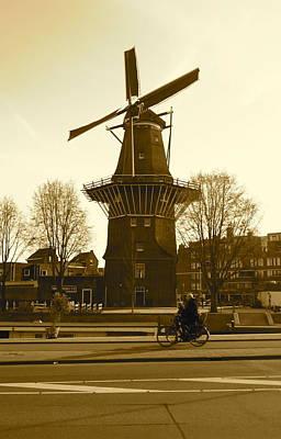 Amsterdam Windmill Art Print by Matthew Kennedy