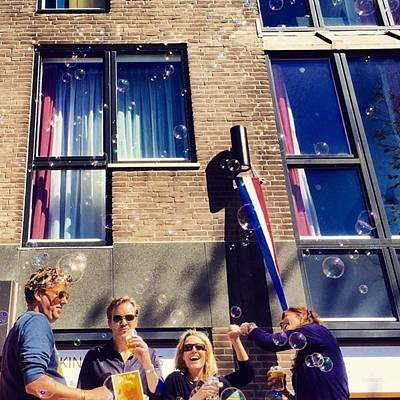 Koningsdag Photograph - Amsterdammer Bubbles 🌷 #bubbles by Alessandro Parca