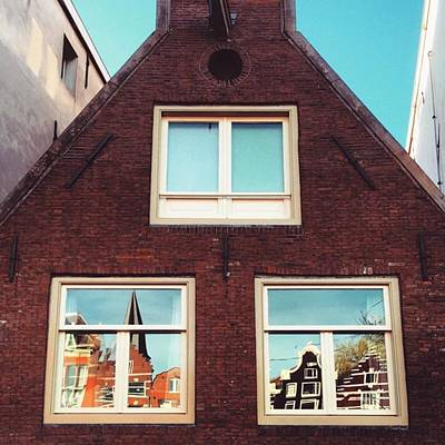 Koningsdag Photograph - Amsterdammer Windows II #architecture by Alessandro Parca
