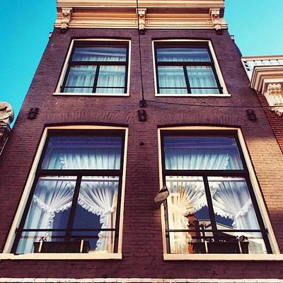 Koningsdag Photograph - Amsterdammer Windows  #architecture by Alessandro Parca