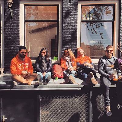 Koningsdag Photograph - Amsterdammers  #amsterdammers by Alessandro Parca