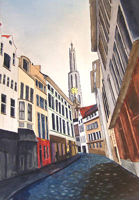 Amstradam Art Print by Robert Thomaston