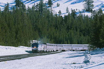 Photograph - Amtrak 112 1 by Jim Thompson