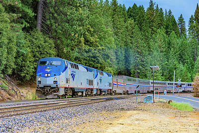 Photograph - Amtrak 181 by Jim Thompson